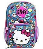 Sanrio Hello Kitty 16' Backpack Large Lunch box Bag
