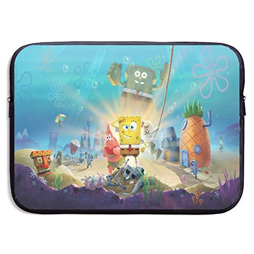 Sponge-Bob SquarePant-s Laptop Sleeve Bag 15 inch Computer Case Tablet Briefcase Ultra Portable Protective