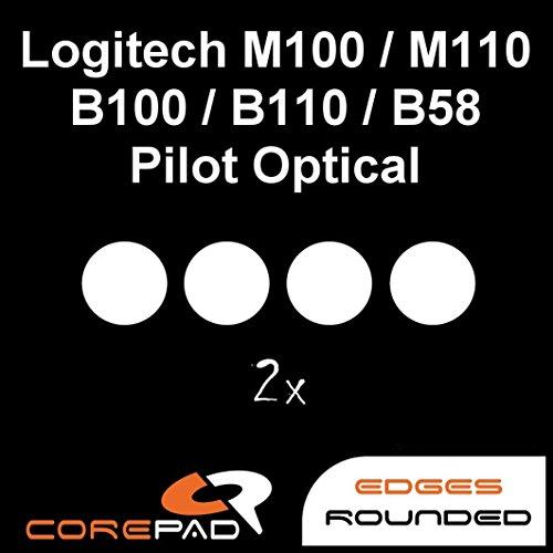 Skate's Logitec M100/ M110/B100/ B110/B58/ Pilot Optisch