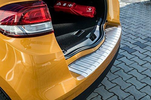 tuning-art L236 Limo Edelstahl Ladekantenschutz mit Abkantung Fahrzeugspezifisch