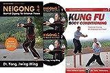 Bundle: Kung Fu Body and Neigong DVDs (YMAA) Kung Fu Qigong and Meditation