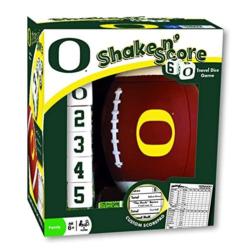 MasterPieces NCAA Oregon Ducks Shake N' Score Travel Dice Game