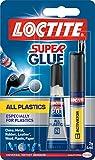 LOCTITE Super Plastix 2g/4ml Kit All Plastics Super Glue Kit All Plastics Super