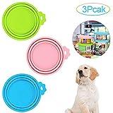 Katzendosendeckel,Tierfutter-Dosendeckel,Universal-Silikon-Dosendeckel,Silikon-Deckel für Dosenfutter,Dosendeckel,Futterdosen Deckel,Dosendeckel für Hunde und Katzen,für Tierfutterdosen