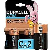Duracell - Ultra C con Powercheck, Batteria Alcalina, confezione da 2, 1.5 volt LR14 MNX1400