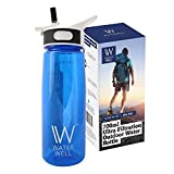 WaterWell™ Travel Ultra 2 Stage Filter Water Bottle - Filters 99.9% of Waterborne