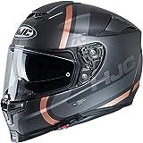 Casque moto HJC RPHA 70 GAON MC9SF, Noir/Or, L