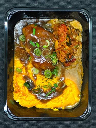 Season Family Fertiggericht Hähnchenbrust-Filet mit Tomate-Mozzarella überbacken als Fitness Essen I Fertiggerichte für Mikrowelle oder Pfanne unter Schutzgasatmosphäre verpackt I Inhalt 450 g