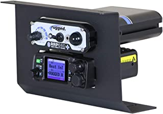 Rugged Radios MT-XP1-RM25WP RM25R-WP Mobile Radio & Intercom Mount for Polaris RZR XP1