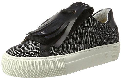 Marc O'Polo Sneaker 70714193501310, Zapatillas Mujer, Color Negro, 38 EU