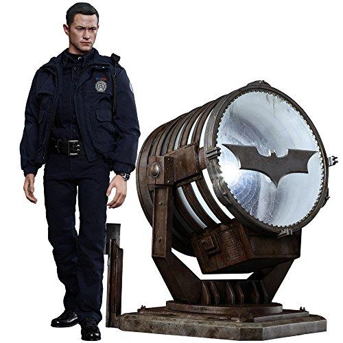 Hot Toys The Dark Knight Rises Movie Masterpiece Actionfigur 1/6 John Blake with Bat-Signal 30 cm