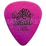 1,00 mm azul en estuche de metal 24 x Dunlop Tortex coj/ín con forma de cu/ña para guitarra//p/úas