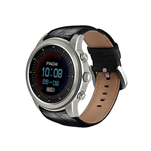 Lemumu A5 aria uomini WomanSmartWatch RAM 2GB/Rom 16GB MTK6580 Quad Core Watchphone per Android 5.1 3G Smartwatch Bluetooth per iOS Android