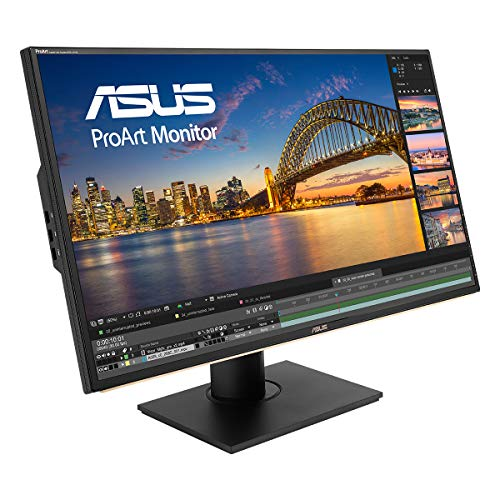 ASUS ProArt PA329C 81,28 cm (32 Zoll) Monitor (HDMI, USB Typ-C, DisplayPort, 4K, HDR-10, VESA Display HDR 600, 100% Adobe RGB) schwarz