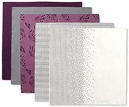 5-Piece Fabric Set 55 x55 cm Multicolor