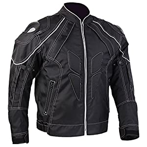 ILM Motorcycle Jackets, Carbon Fiber Armor Shoulder