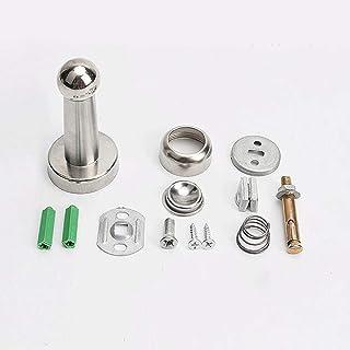 ZQGLKJ Silver Stainless Steel Door Stopper Soft-Catch Magnetic Door Stop in Brushed Satin Nickel Wall Mount by Lizavo Silver