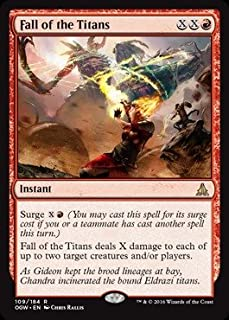 fall of the titans mtg