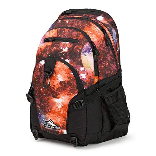 High Sierra Loop-Backpack, 19 x 13.5 x 8.5-Inch, Space Age/Black
