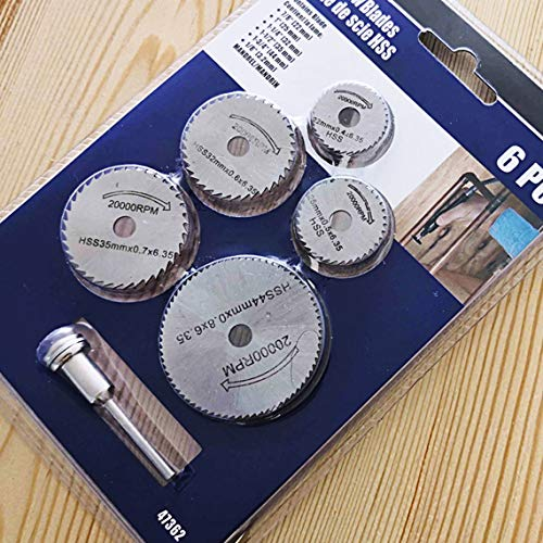 Zinniaya Mini hoja de sierra circular Disco de corte Hss Accesorios de...