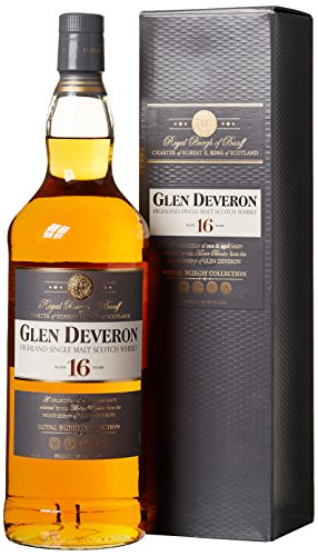Glen Deveron 16 Years Old mit Geschenkverpackung  Whisky (1 x 1 l)