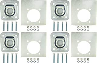 Pit Posse Recessed Pan D Ring and Washer Kit (4pk)