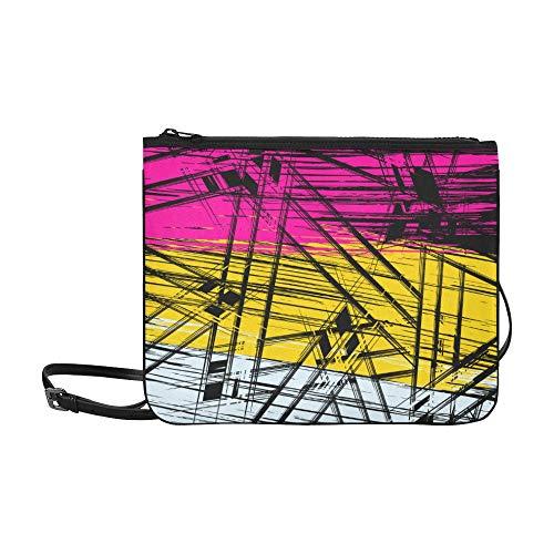 Sac à main décontracté Art Block Fashion Poster Graffiti Bandoulière réglable Toddler Crossbody Bag Pour Femmes Filles Dames Cross Body Bag Boys Best Handbag