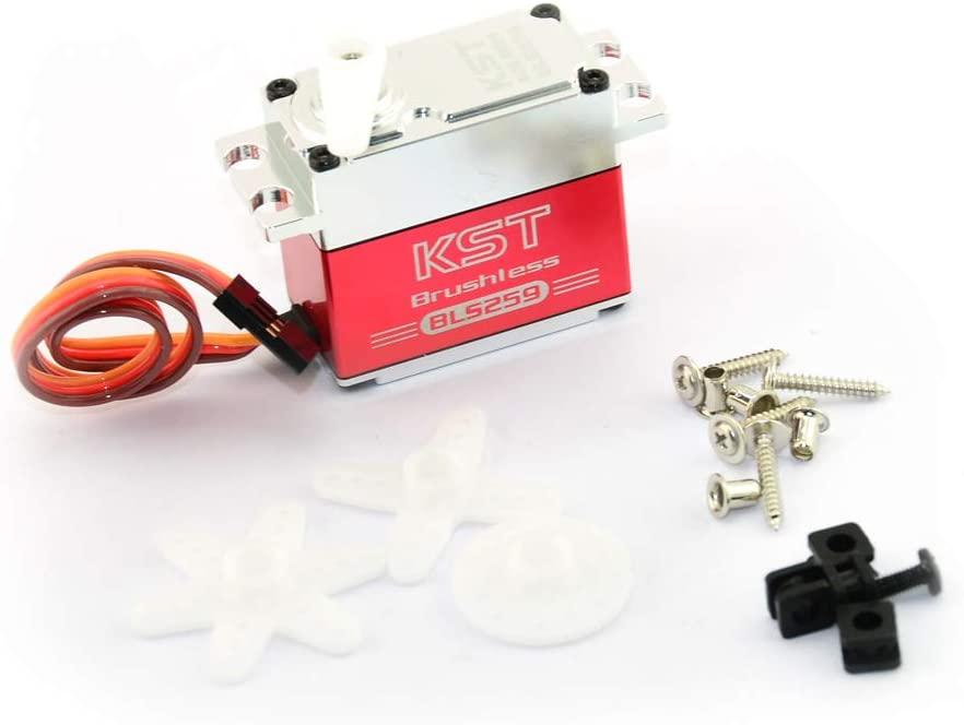 KST BLS259 Brushless Servo 16KG Raleigh Mall RC Motor for Car Airplane Colorado Springs Mall