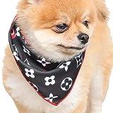 犬 夏 ひんやり犬 夏 用 ペット 涼しい 冷感タオル 散歩 バンダナ 熱中症対策 ひえひえ爽快 冷却タオル 速乾 冷却 冷たい 冷える かわいい (ブラック)
