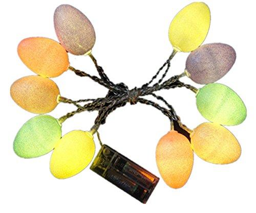 LEDMOMO Ostern Lichterkette für Party Haus Dekoration