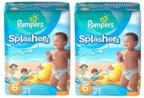 Pampers Splashers Swim Pants (Size 6) - by Pampers
