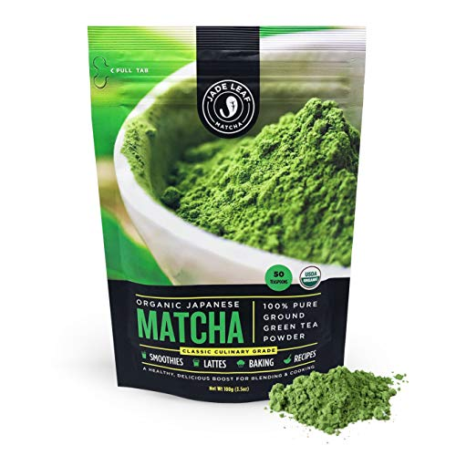USDA certified Great for Smoothies and Baking 114g - 4oz Organic Matcha Green Tea Powder Best Japanese Macha 100/% Pure Ceremonial and Culinary Grade