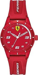 Scuderia Ferrari Unisex Kid's Analogue Quartz Watch with Silicone Strap 0860010