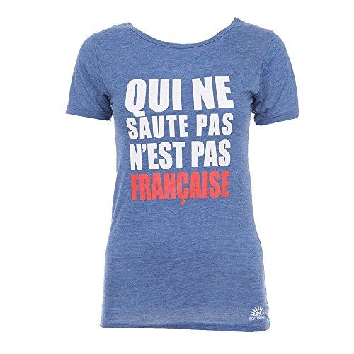 meilleur site web grande remise convient aux hommes/femmes NATIONS OF FOOTBALL T-Shirt Prisca - Femme - Bleu