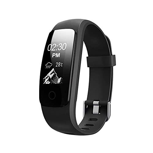 CurioCity Activity Tracker with Wrist Based Heart Rate Monitor IP67 Waterproof Smart Bracelet For Android and IOS