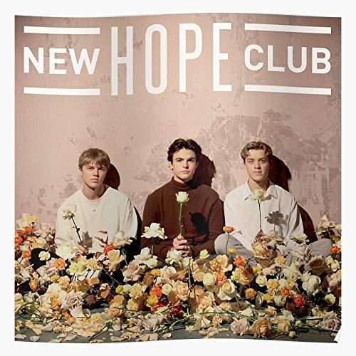 Welcome Reece Join George Smith Nhc To Bibby Club The New Hope Vamps Richardson Blake Regalo per la Decorazione Domestica Poster da Parete Stampa Artistica 11.7 x 16.5 inch