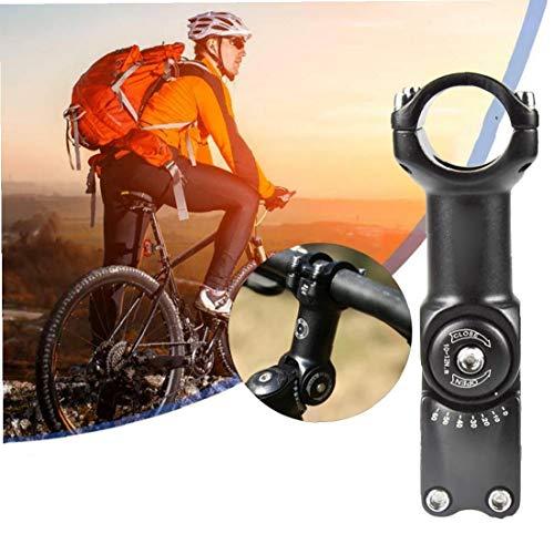 Bicicleta Madre Riser, 25.4mm 0-60 Grado De Bicicletas Vástago Ajustable Aleación De Aluminio De La Bici Del Vástago De Apriete Para Bicicleta De Montaña, Bicicleta De Carretera, Bmx, Bici De La Pista