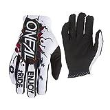 O'NEAL Matrix Villain Youth Kinder MX DH FR Handschuhe weiß/schwarz 2019 Oneal: Größe: S (3-4)