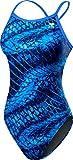 TYR Women's Plexus Diamondfit Swimsuit, Blue, 36