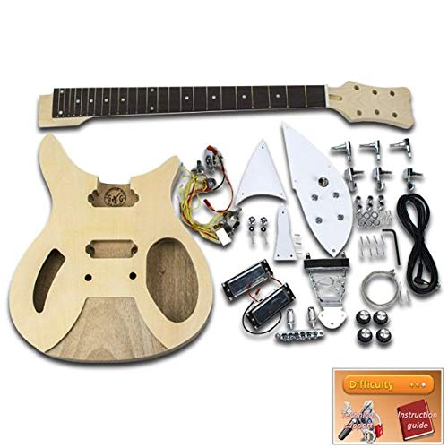 DiY gitaar Kit – Rickenbacker, Mahonie