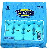Peep (1 bag) Easter Blue Marshmallow Bunny Candy - 8 Bunnies per Bag - Gluten & Fat Free - 3 oz / 85 g from Peep