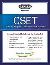 Kaplan CSET: The California Subject Examination for Teachers