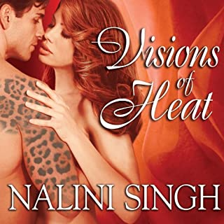 Visions of Heat audiobook cover art