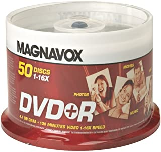 Magnavox DVD+R 16x 50 pack Spindle