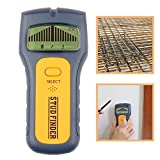Detector de Metales Ligeros Detector de Metal Ligero portátil de Metal de Tres-en-uno Densidad Detector de Pared Detector de Voltaje Fácil de operar (Color : Black, Size : One Size)