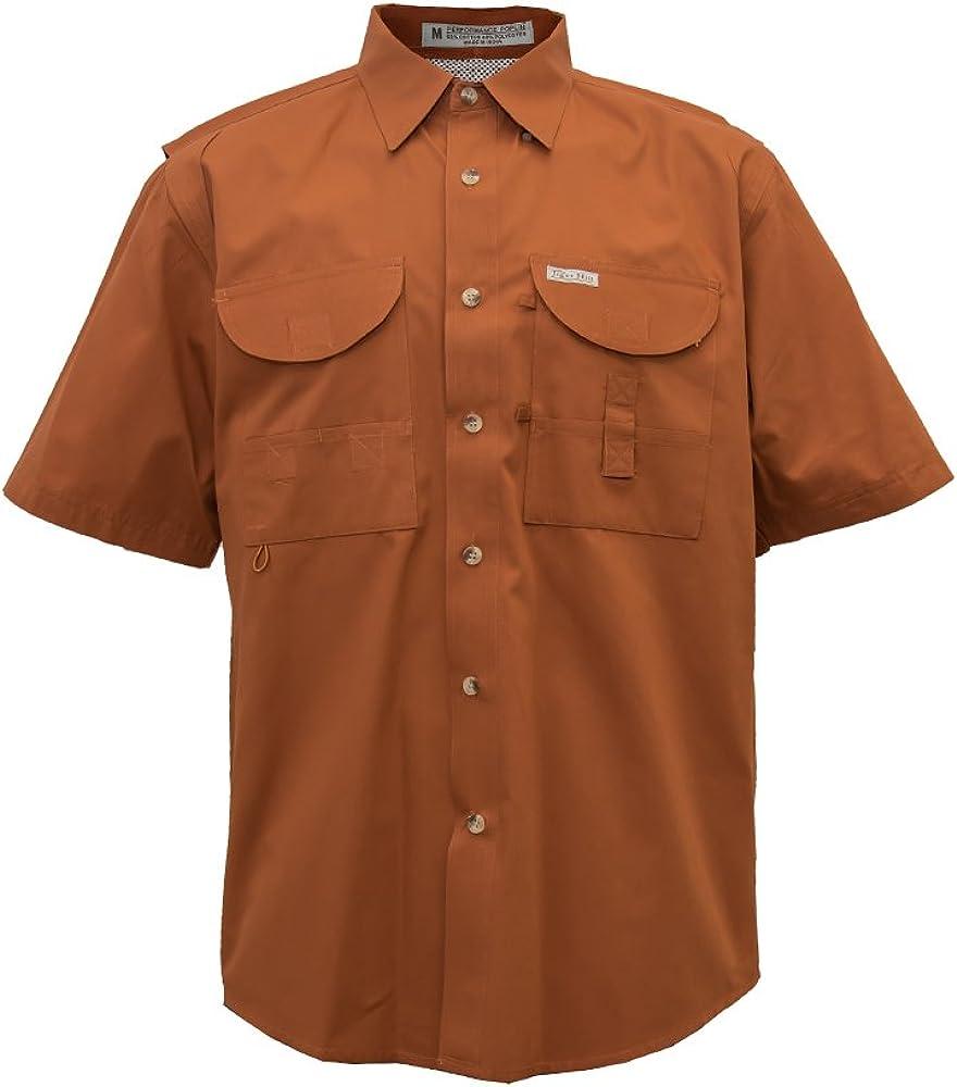 Tiger Hill Men's Fishing Shirt Short Sleeves