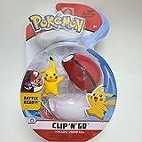 JINGXIU Pokemon Pikachu Fat Ding Yin Bu Kabi Beast WCT Cinturón Master Ball Pokeball Japonés Películas y TV Figuras de acción Anime Juguetes (color Q PK )
