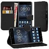 DN-Technology Nokia 8 Case, Nokia 8 Leather Case 2017 Model