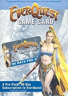 everquest prepaid game card