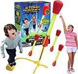 The Original Stomp Rocket Ultra Rocket Launcher, 4 Rockets and Toy Air Rocket Launcher - Outdoor Rocket STEM Gift for Boys and Girls Ages 5 Years and Up - Great for Outdoor Play